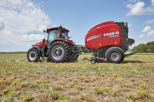 Case IH RB565 Premium HD Round Baler for sale at Kunau Implement, Iowa