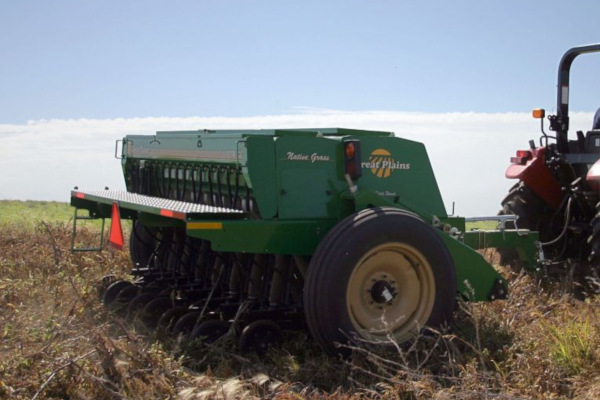 Cover Crops - 10' End Wheel No-Till Compact Drill