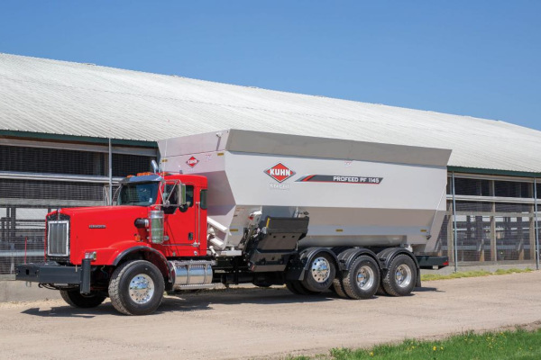 Kuhn | Feed Delivery Boxes | PF 100 Series for sale at Kunau Implement, Iowa