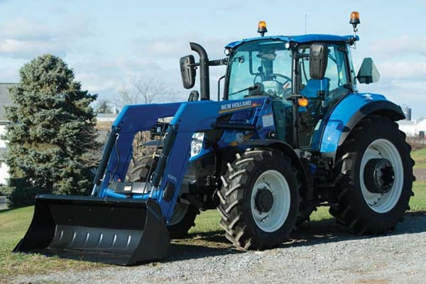 New Holland T5.100 Dual Command™ for sale at Kunau Implement, Iowa