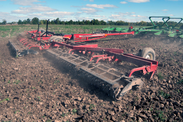 Unverferth | Rolling Harrow® Soil Conditioner | Model 1245D for sale at Kunau Implement, Iowa