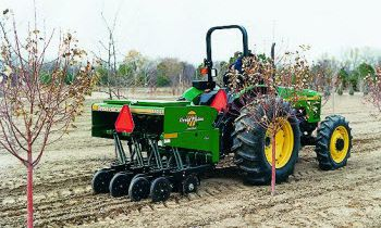 Compact Drills - 5' Mounted Min-Till Compact Drill – Vineyard Model