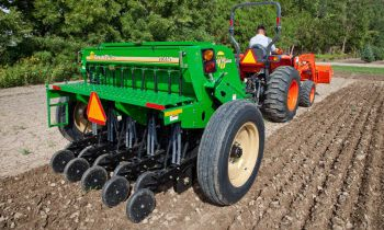 Compact Drills - 7' End Wheel No-Till Compact Drill