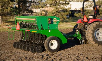 Compact Drills - 8' End Wheel Min-Till Compact Drill