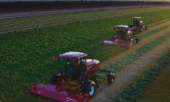 Self-Propelled Windrowers and Headers - M Series SP Windrowers