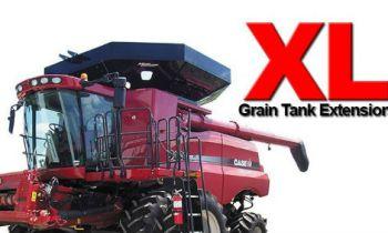 Maurer Extensions and Tip Ups - Grain Tank Extensions