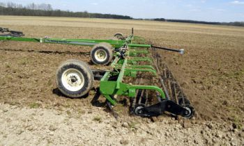 Rolling Harrow® Double Basket 1225