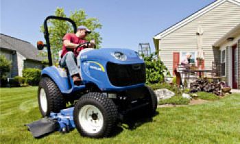 Front Loaders & Attachments - Mid-Mount Finish Mowers