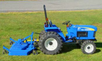 Front Loaders & Attachments - Rear-Mount Finish Mowers
