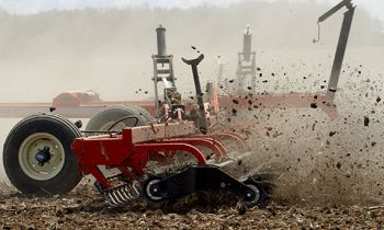 Rolling Harrow® Double Basket 1245