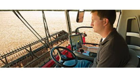 Case IH Combine Yield Monitoring