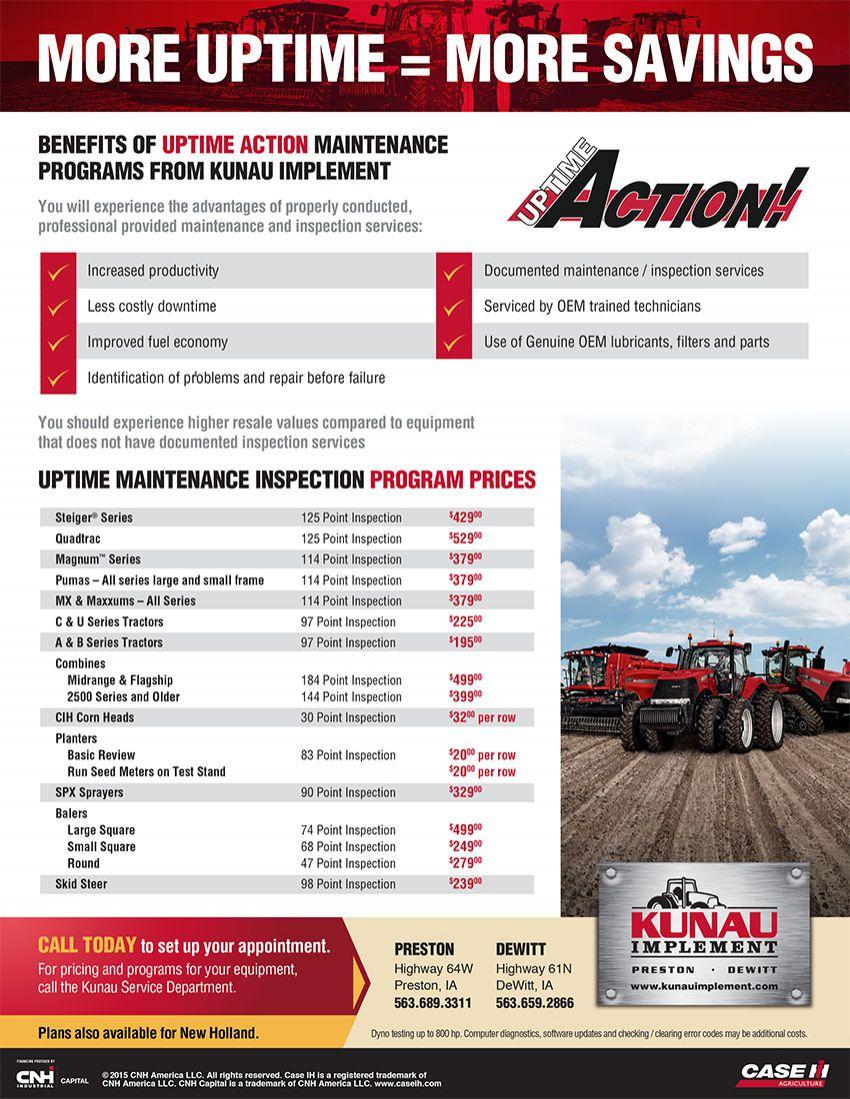 Equipment Repair & Maintenance Services   Kunau Implement » Kunau